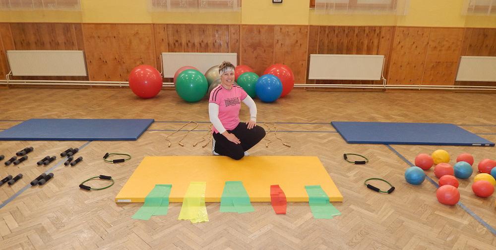 Pomůcky na zdravotní cvičení